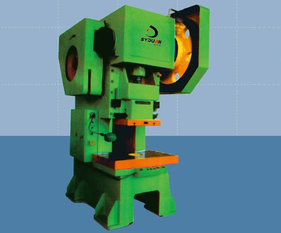 上海J21S系列开式深喉口固定台压力机