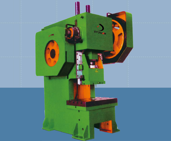 J21S系列开式深喉口固定台压力机